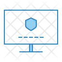 Computer Locked Security Icon