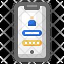Login Personal Smartphone Icon