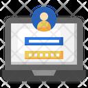 Login Password Laptop Icon