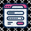 Login Access Code Icon