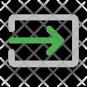 Login Arrow Move Icon