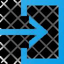 Enter Login Interface Icon