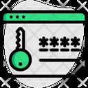 Credentials Key Password Icon