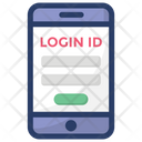 Secure Access Login Id Mobile Security Icon