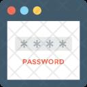 Login Screen Password Icon