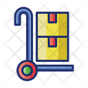 Logistic Luggage Parcel Icon