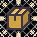 Logistic Delivery Box Icon