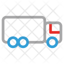 Logistic Shipping Truck Icon