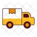 Logistic Transport Truck Icon
