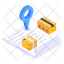 Delivery Location Logistics Tracking Logistic Address Icon