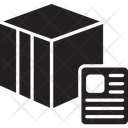 Logistic Bill Invoice Receipt Icon