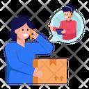 Logistic Call Service Icon