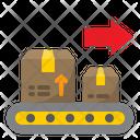 Logistic Conveyor Icon
