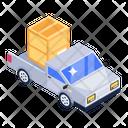 Delivery Van Logistic Delivery Cargo Van Icon