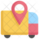 Logistic Map Navigation Icon