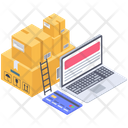 Logistic Delivery Services Icon