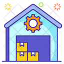 Logistic Management Inventory Management Warehouse Icon