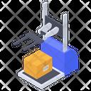 Logistic Robot Picker Icon