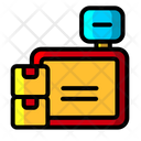 Logistic Scale Logistic Weight Box Scale Icon