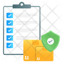 Logistic Docs Logistic Paper Inventory List Icon
