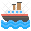 Logistic Ship Icon