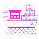 Logistics Shipping Cargo Icon