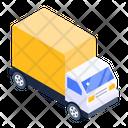 Logistics Truck Shipment Cargo Truck Icon