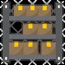 Logistic Warehouse Icon