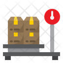 Logistic Weigh Scale Icon