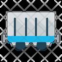 Logistics Transportation Train Icon