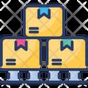 Logistics Warehouse Storage Icon