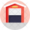Logistics Stock Warehouse Icon