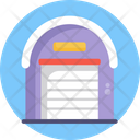 Logistics Warehouse Shipping And Delivery Icon