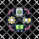 Logistics Business Management Icon