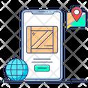 Logistics App Delivery App Mobile App Icon