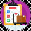 Checklist Verified List Logistics Checklist Icon