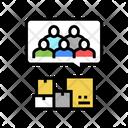 Logistics Clients Service Clients Icon