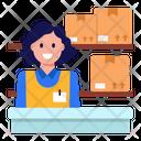 Logistics Counter Icon