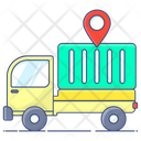 Logistics Delivery Delivery Van Shipping Truck Icon