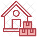 House Bulk Shipment Icon