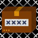 Logistics Delivery Mark Icon