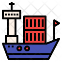 Logistics Shipping Ship Icon