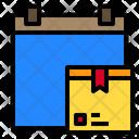 Date Delivery Logistics Icon