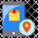 Smartphone Destination Location Icon