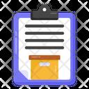 Shipment Document Logistics Document Inventory List Icon