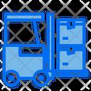 Logistics Forklift Icon