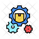 Delivering Working Mechanism Icon