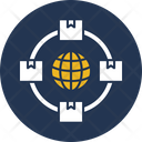 Logistics Network Icon