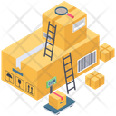 Logistics Packages Icon