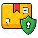 Logistics Security Safe Delivery Delivery Protection Icon